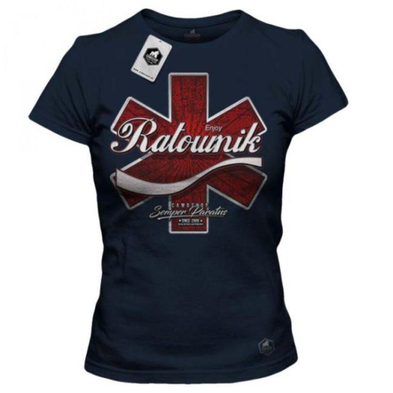Stylowe koszulki posiadające nadruk medyczny